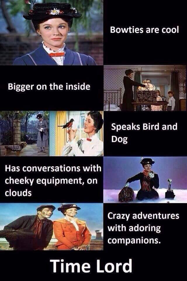 Mary Poppins, Time Lady!