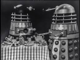 1966: Blue Peter: Dalek tea party