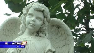 Mysterious Angels Appearing At Lighthouse Park In Biloxi - Whovians know why!