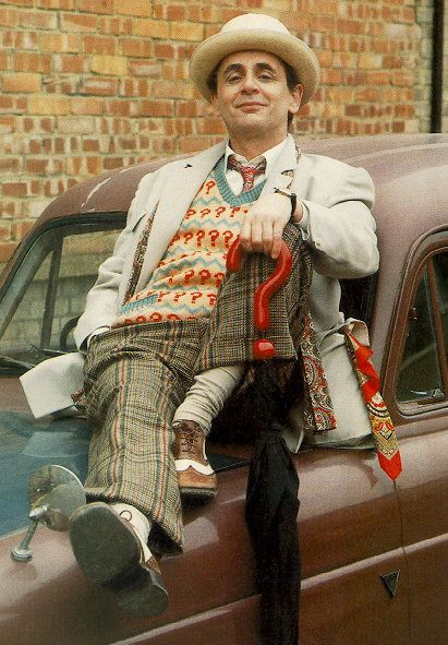 Gotta just love Sylvester McCoy