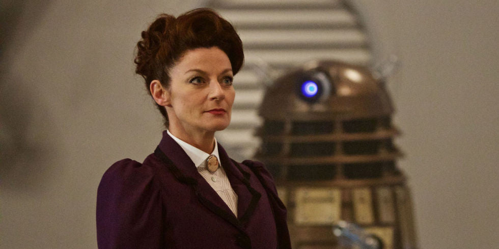 Missy's back on Doctor Who for series 10, Michelle Gomez reveals!