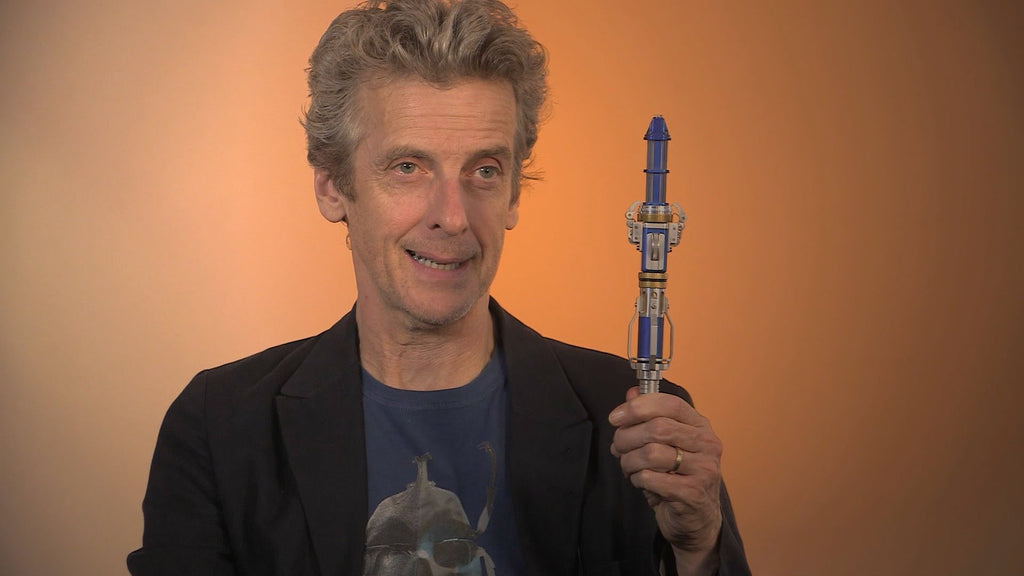 A sneak peek of The Doctor's new Sonic Screwdriver