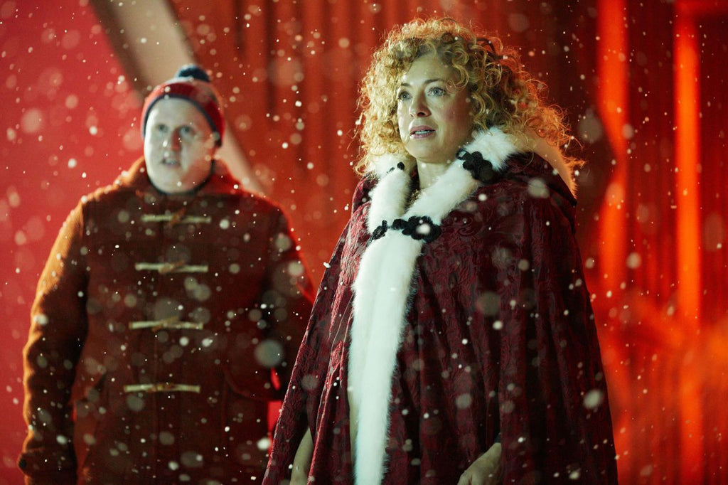 "Steven Moffat on River Song: ""There's No Way to Kill Her Off"""