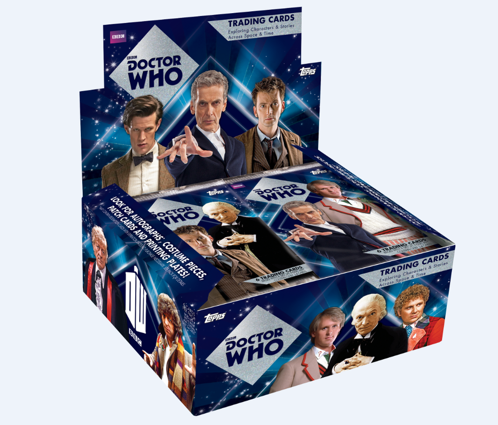 Topps Dr Who trading cards hit America