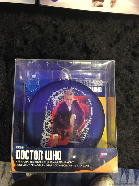 12th Doctor glass ornament - Doctor Who - Wibbly Wobbly Timey Wimey