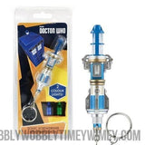 12th Dr Doctor Who Sonic Screwdriver LED Keychain Torch - Doctor Who - Wibbly Wobbly Timey Wimey