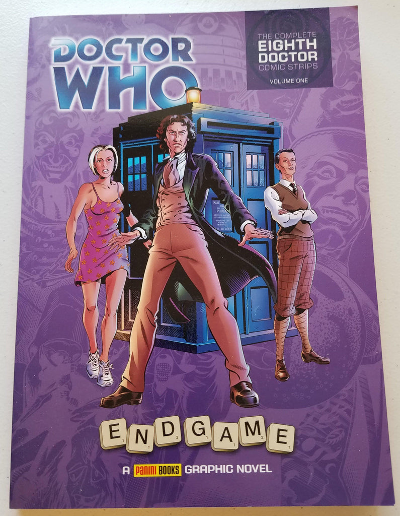 8th Doctor comic book - Doctor Who - Wibbly Wobbly Timey Wimey