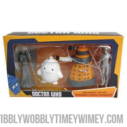 Doctor Who Mini Ornament Gift Set 4-Pack