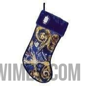 Doctor Who Starry Nite TARDIS Stocking - Doctor Who - Wibbly Wobbly Timey Wimey