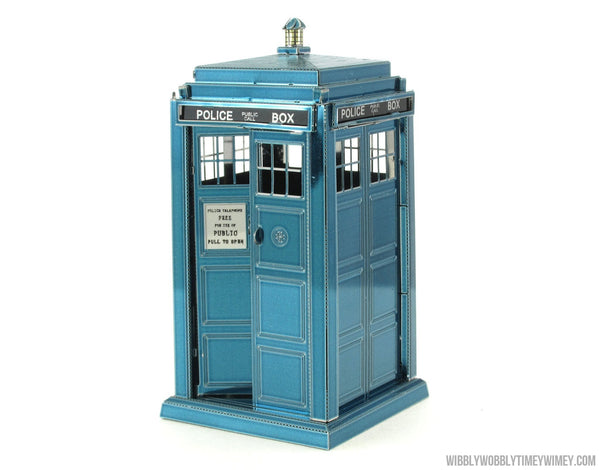 Doctor Who TARDIS Metal Earth Model Kit - Doctor Who - Wibbly Wobbly Timey Wimey