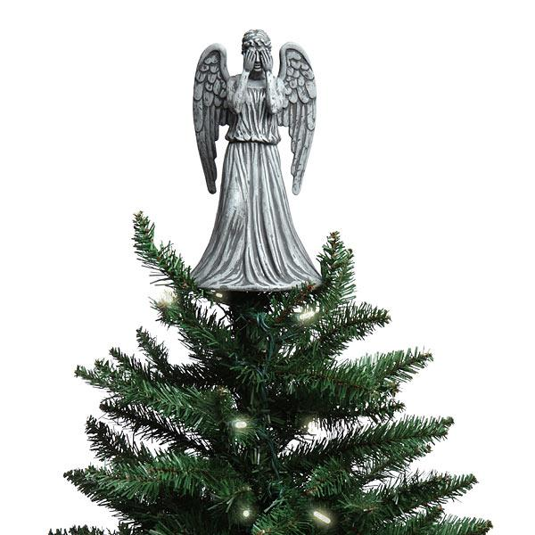 Christmas Tree Topper.Doctor Who Weeping Angel Tree Topper Free Shipping In The Continental Usa