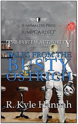 JumpMaster Press Tales From The Busty Ostrich (The Tri-System Authority)- Book 3 Jump Card ID - Doctor Who - Wibbly Wobbly Timey Wimey