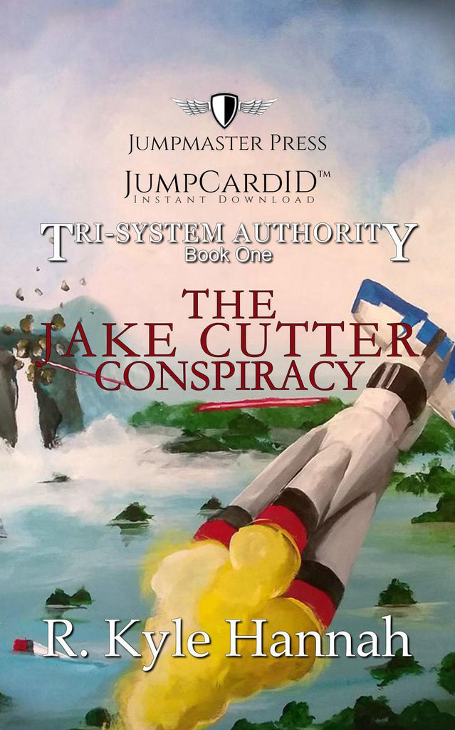 JumpMaster Press - The Jake Cutter Conspiracy (The Tri-System Authority) Book 1 Jump Card ID - Doctor Who - Wibbly Wobbly Timey Wimey