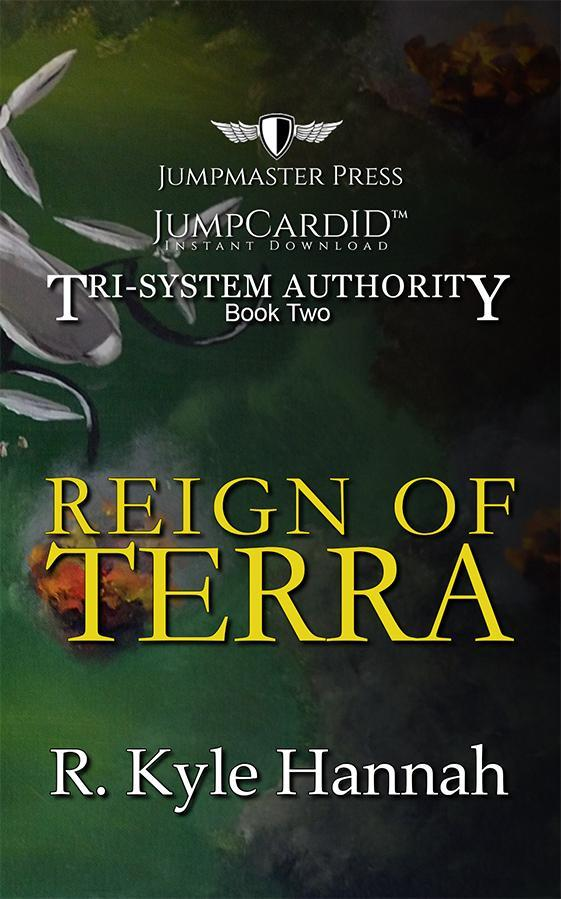 JumpMaster Press The Reign of Terra (The Tri-System Authority)- Book 2 Jump Card ID - Doctor Who - Wibbly Wobbly Timey Wimey