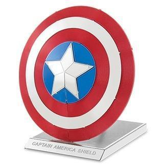 Metal Earth 3D Captain America's Shield Marvel COLOR - Doctor Who - Wibbly Wobbly Timey Wimey