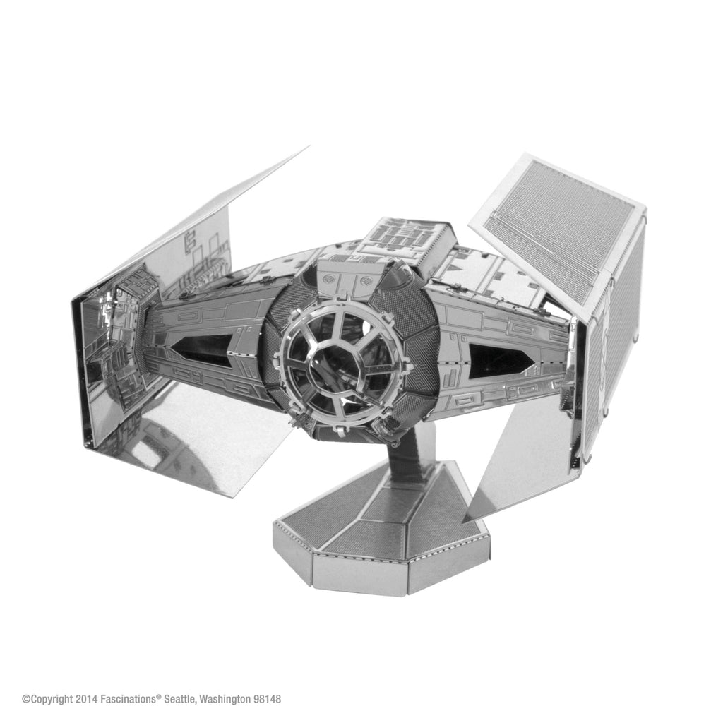 Metal Earth 3D Metal Darth Vader's TIE Fighter Star Wars - Doctor Who - Wibbly Wobbly Timey Wimey