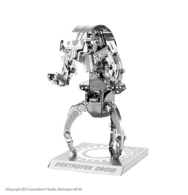 Metal Earth 3D Metal Destroyer Droid Star Wars - Doctor Who - Wibbly Wobbly Timey Wimey