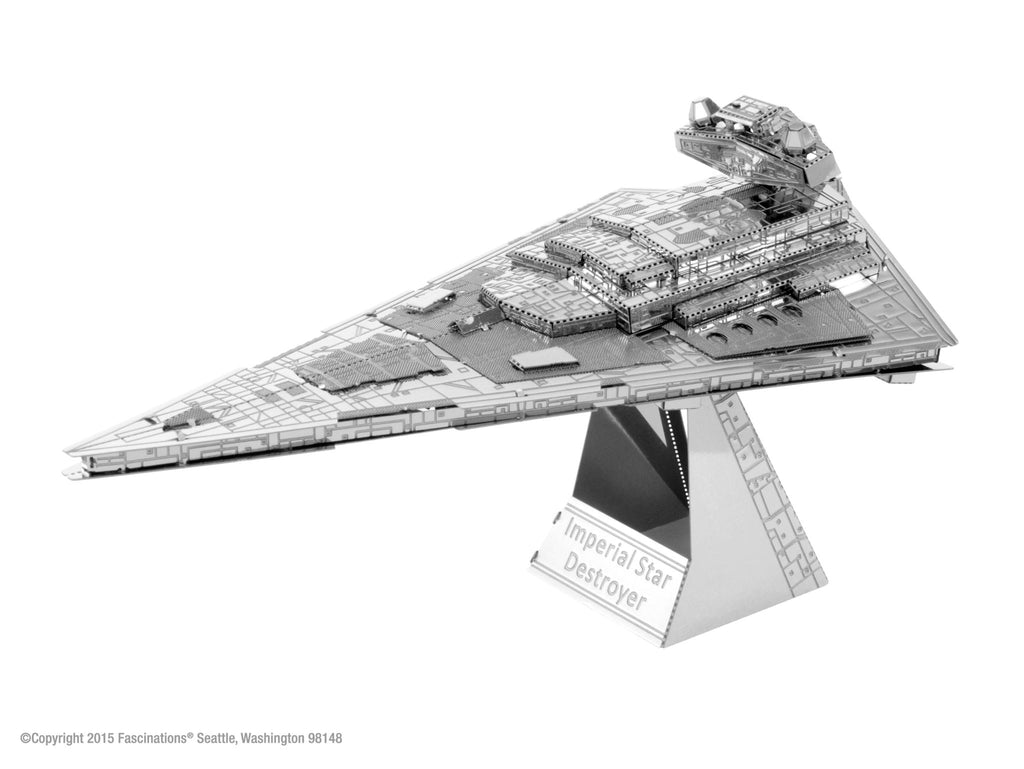 Metal Earth 3D Metal Imperial Star Destroyer Star Wars - Doctor Who - Wibbly Wobbly Timey Wimey
