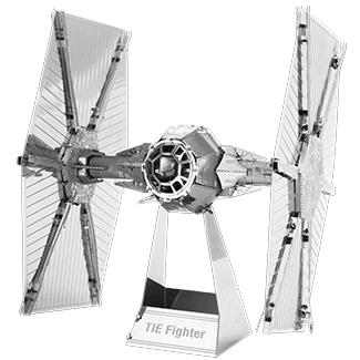 Metal Earth 3D Metal TIE Fighter Star Wars - Doctor Who - Wibbly Wobbly Timey Wimey
