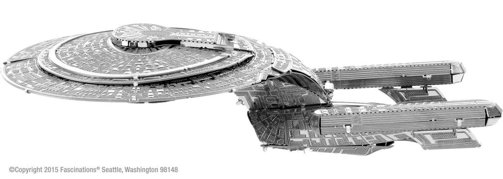 Metal Earth 3D Metal USS Enterprise NCC-1701D Star Trek - Doctor Who - Wibbly Wobbly Timey Wimey
