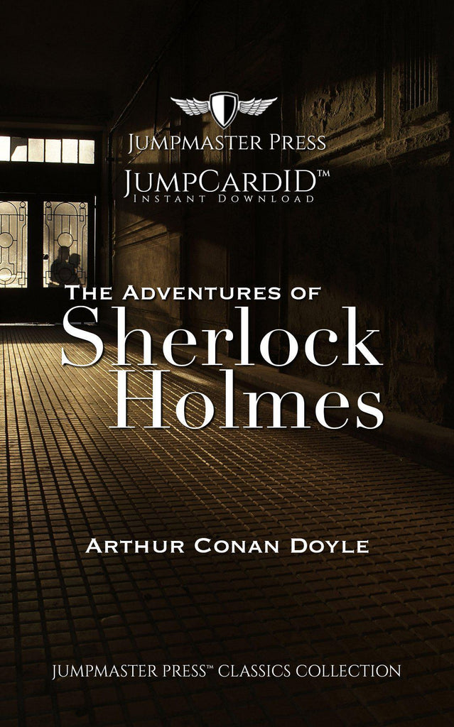 The Adventures of Sherlock Holmes Jumpcard ID - Doctor Who - Wibbly Wobbly Timey Wimey