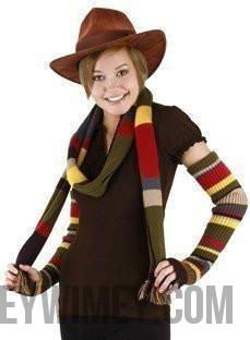 The Fourth Doctor's arm warmers - Doctor Who - Wibbly Wobbly Timey Wimey