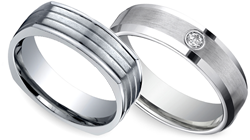 Men's Wedding Rings and Bands