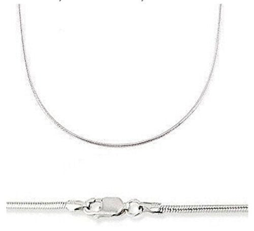 Snake Chain - 14K Solid White Gold