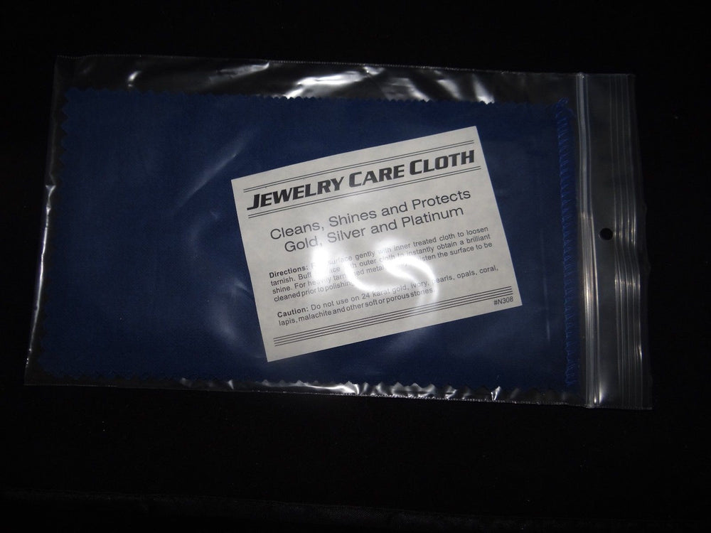 Jewelry Cleaning Cloth - Silver