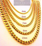 Cuban Chain - Yellow Gold