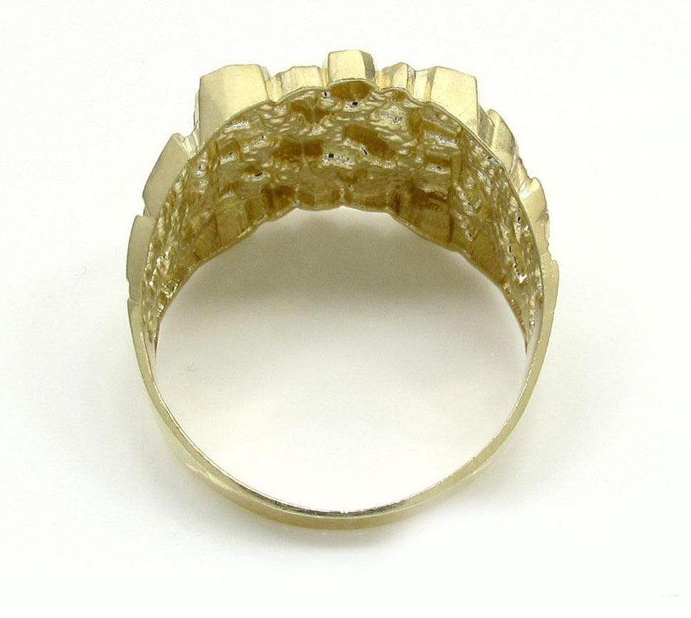 Nugget Ring -10K Yellow Gold