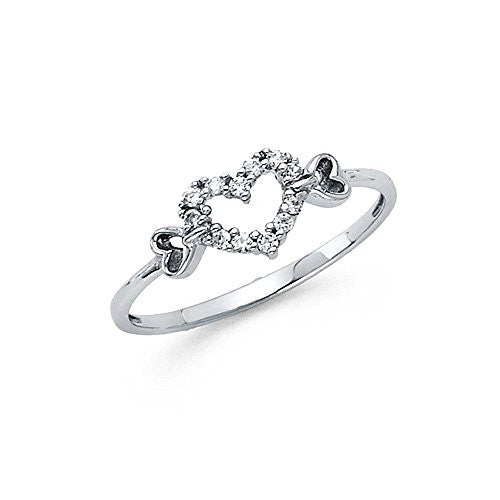 14K White Gold - 0.25ct