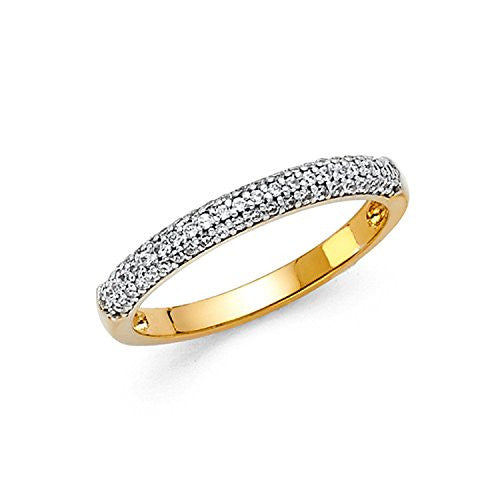 Wedding Band Rings - Round
