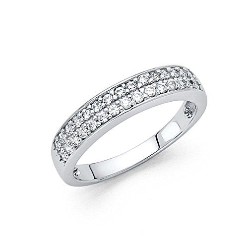 Wedding Band Ring - Round