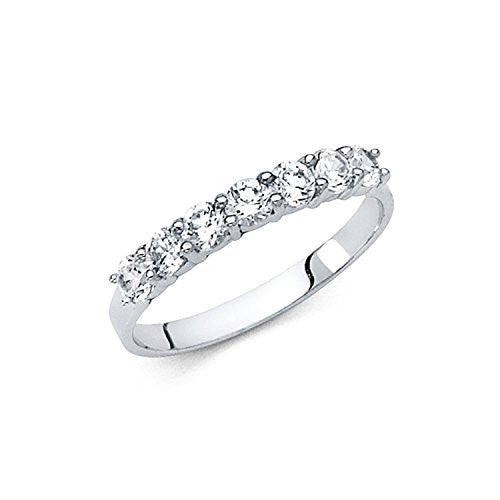Wedding Band Ring - 14K