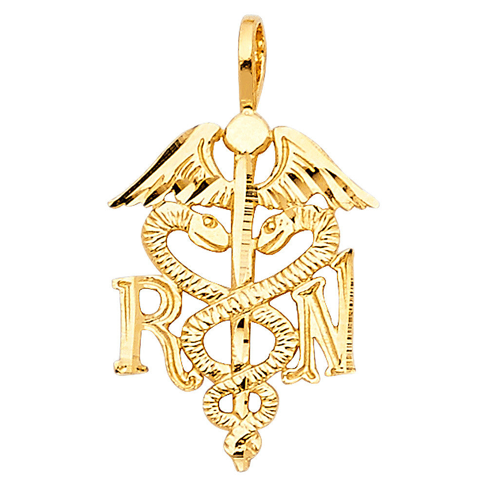 14K Gold Pendants - Medical