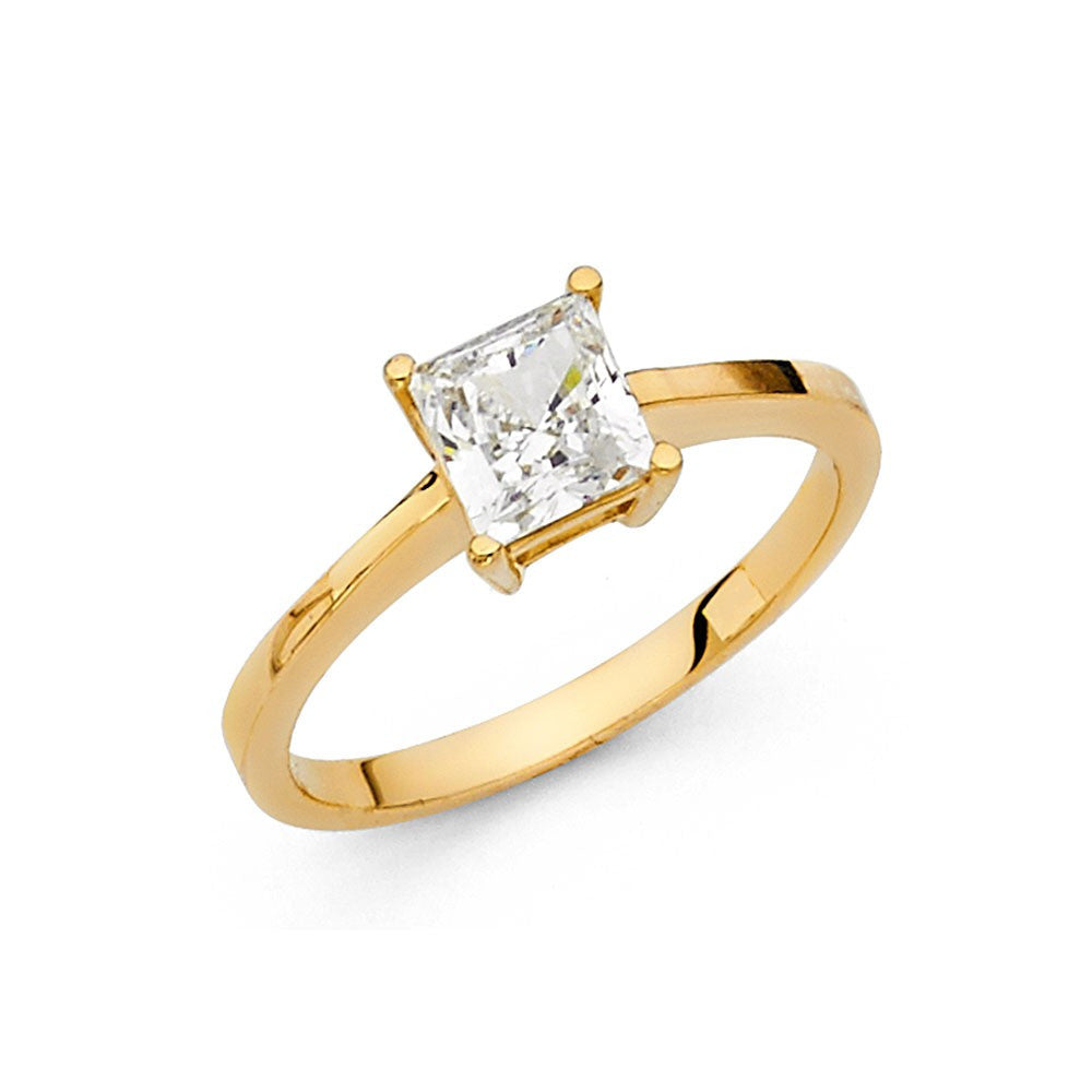 14K Yellow Gold - 14K
