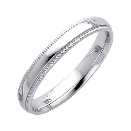 Comfort Fit Ring - Wedding Band