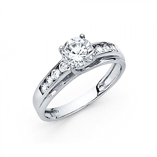 14k White Gold - Wedding