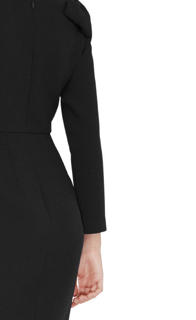 editions de robes collection fall winter 2016 flavie cocktail black dress