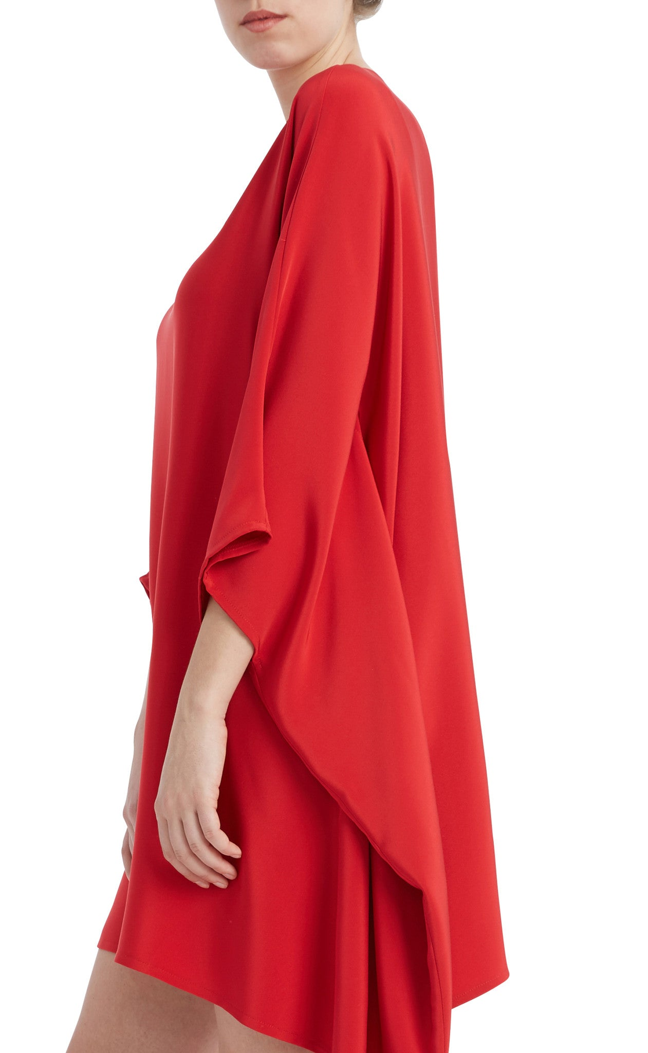 editions de robes SS17 collection cocktail sora red dress