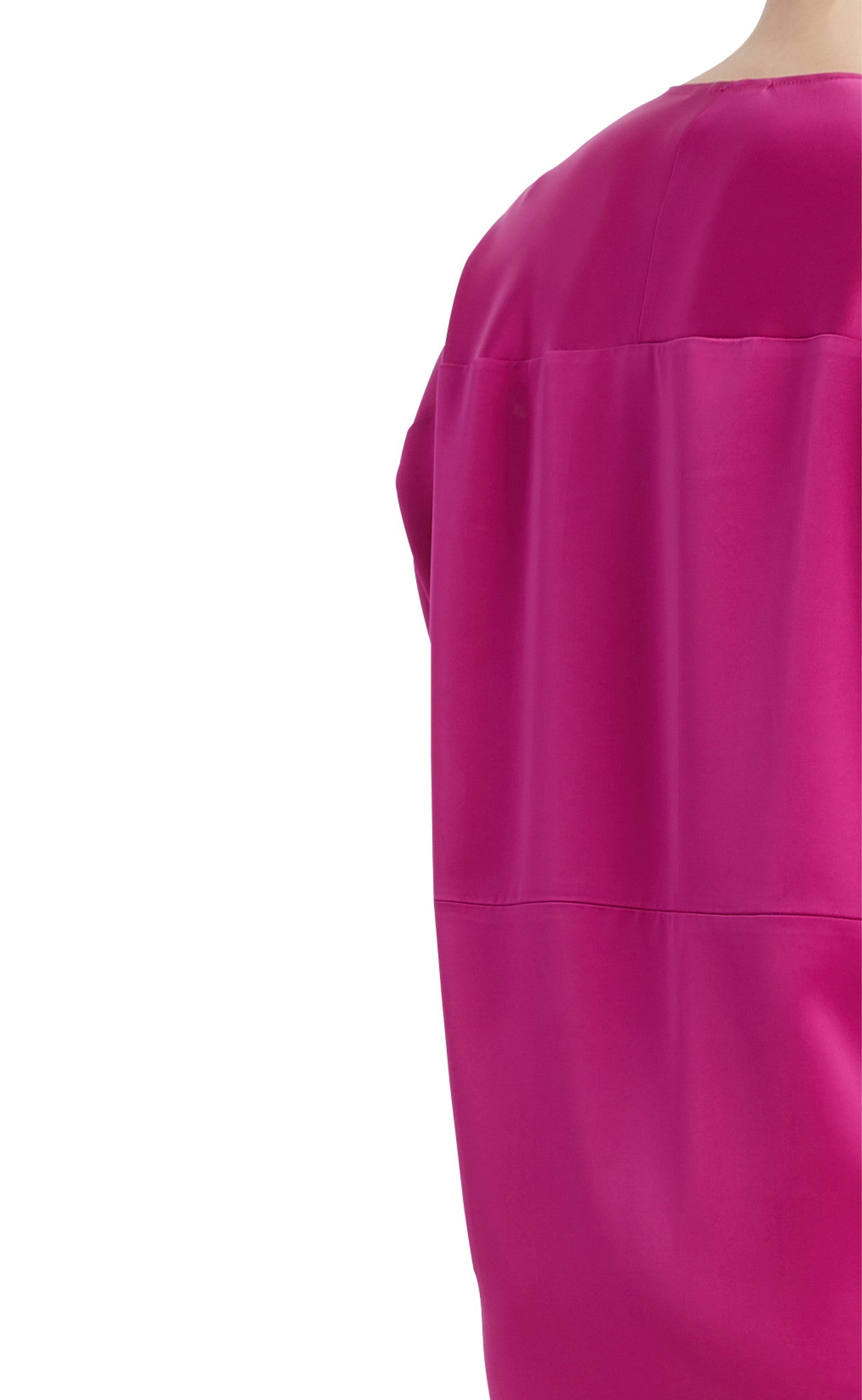 editions de robes SS17 collection cocktail mali fuchsia dress