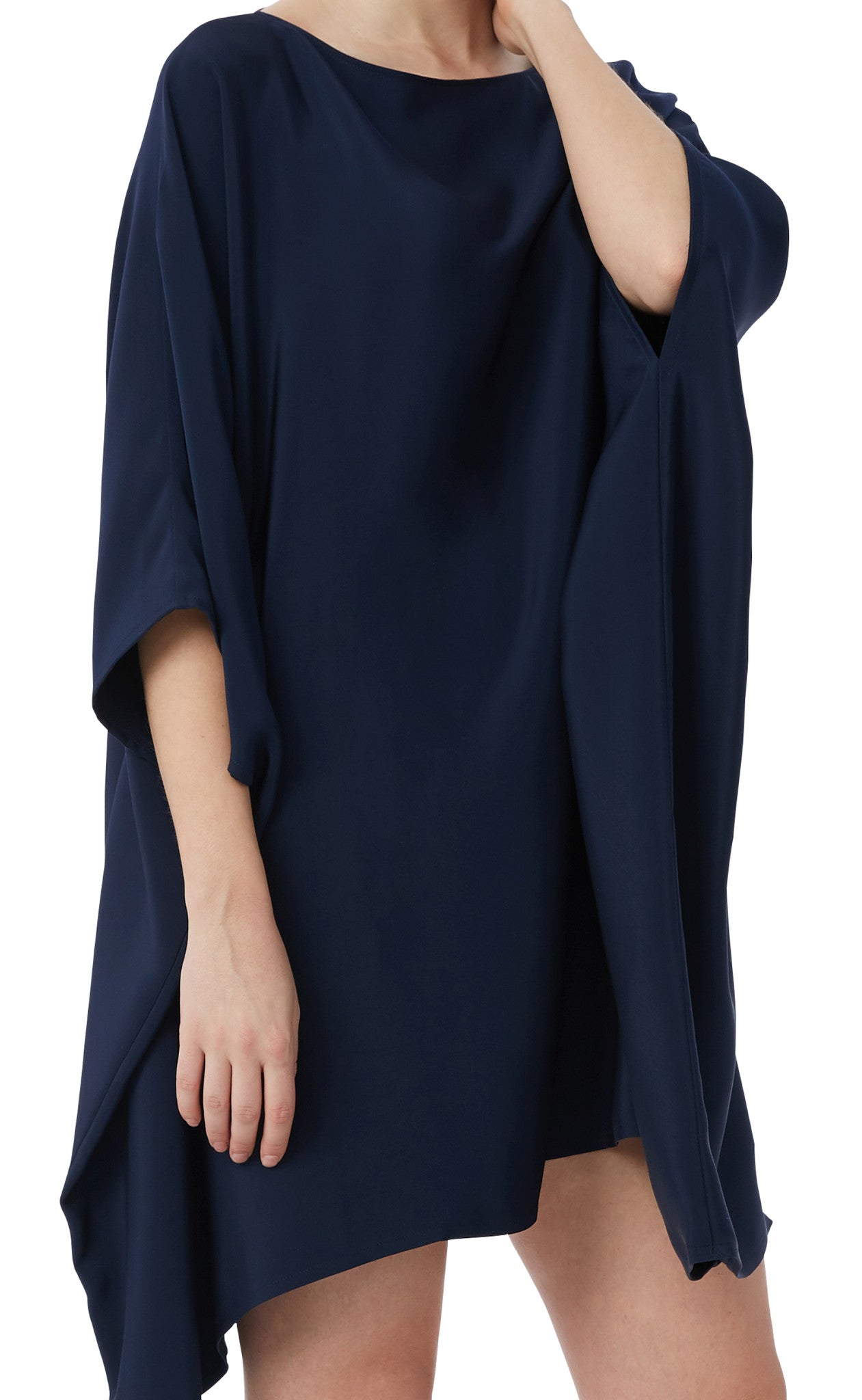editions de robes SS17 collection cocktail sora navy dress
