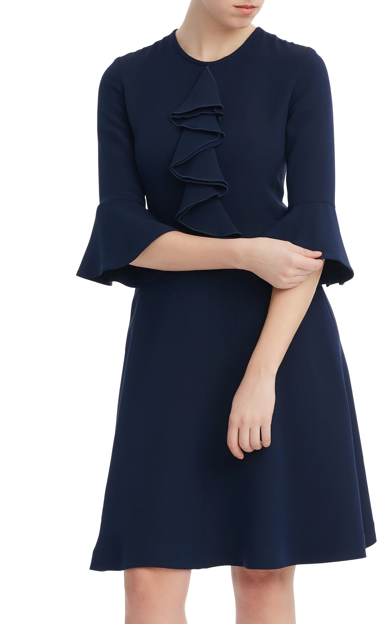 editions de robes SS17 collection work and cocktail joanne navy dress