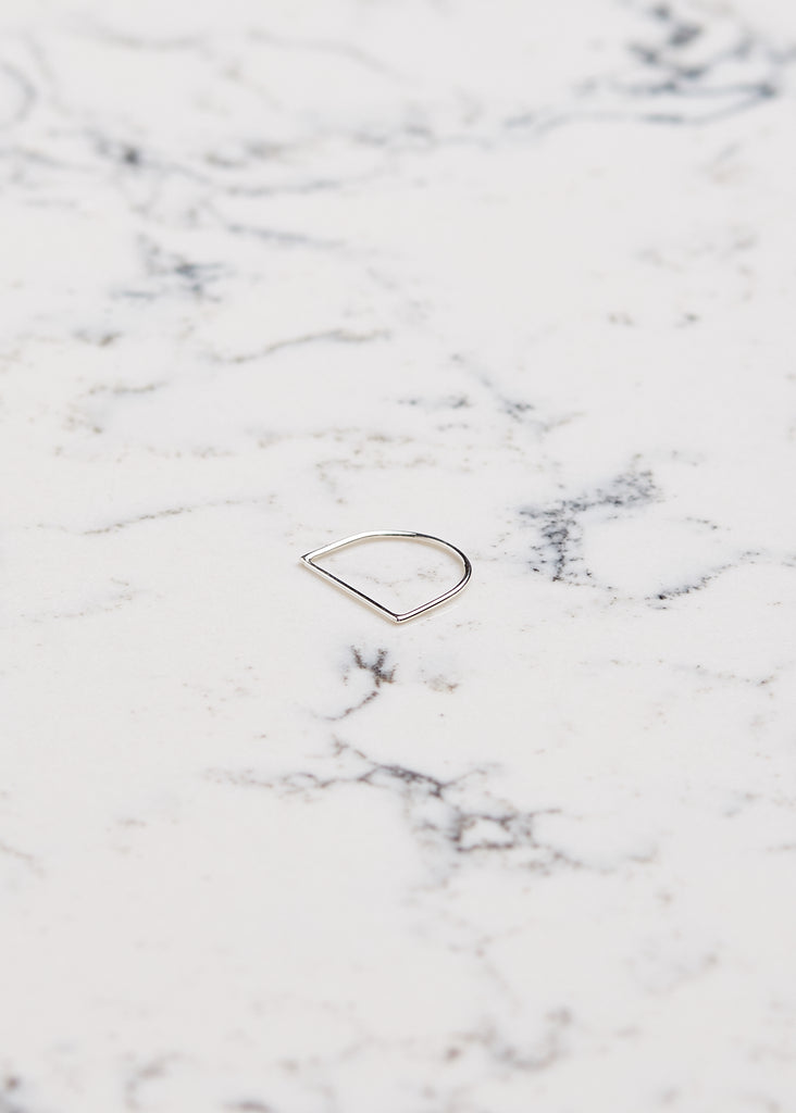 U-Shaped Ring | Bague forme U