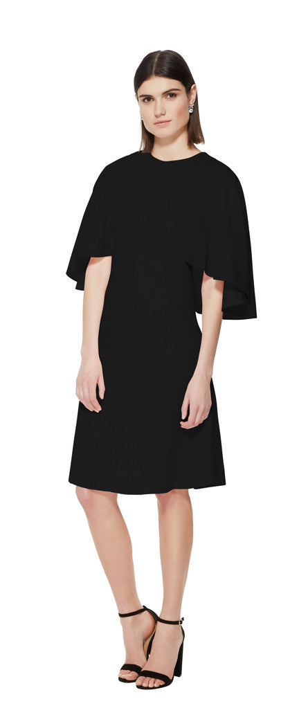 editions de robes SS16 collection cocktail fanny black dress
