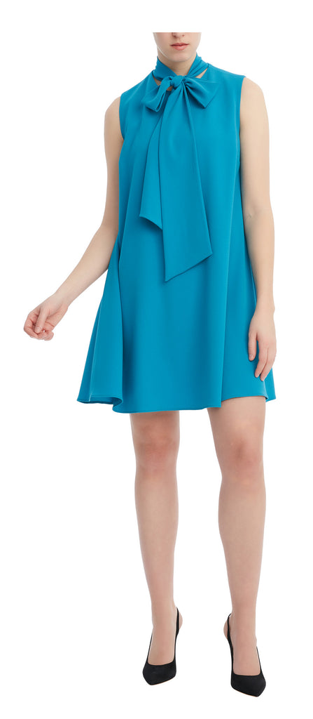 editions de robes SS17 collection cocktail isla teal dress