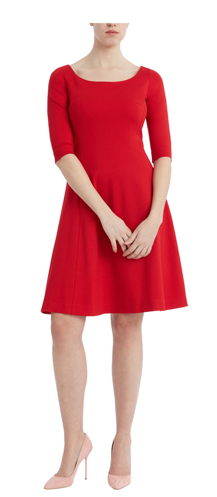 editions de robes SS17 collection work doris red dress