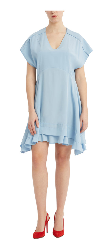 editions de robes SS17 collection cocktail ruby blue dress