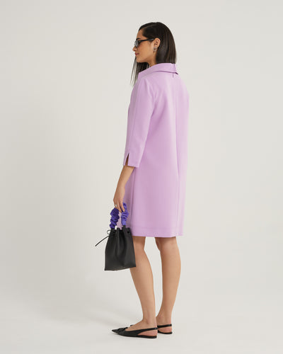 Janice 3/4 Sleeve Shift Work Dress and Cocktail Dress